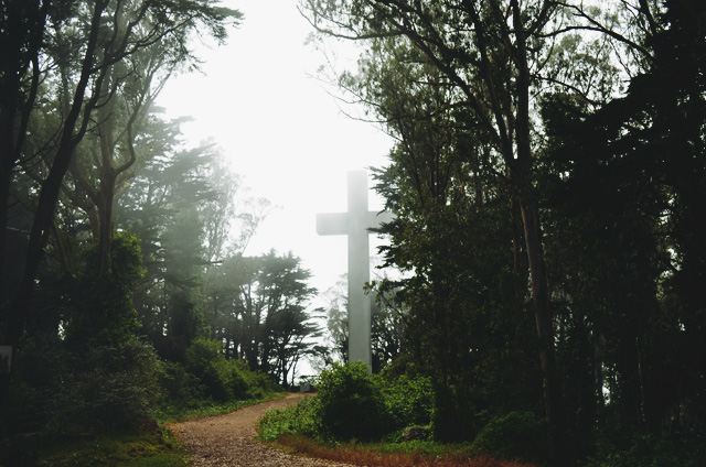 mt davidson cross