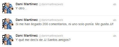dani martinez jj santos twitter
