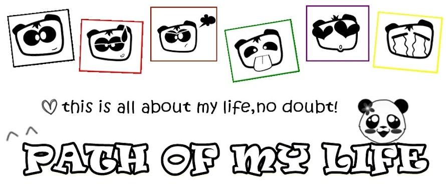 PATH OF MY LIFE