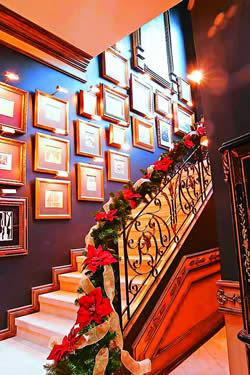 El blog de la navidad decoraci n navide a de escaleras - Decoracion navidena escaleras ...