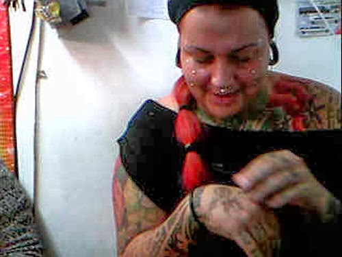 Counting your piercings and tattoos