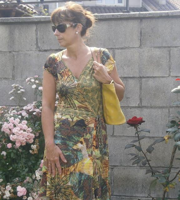 Br jula de estilo mis looks vestido estampado tropical - Brujula de estilo ...