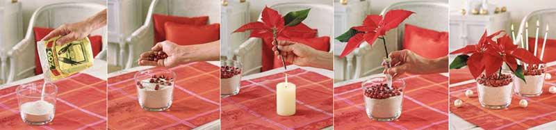 Los pucheros de emme ideas de navidad for Adornos navidenos para mesa