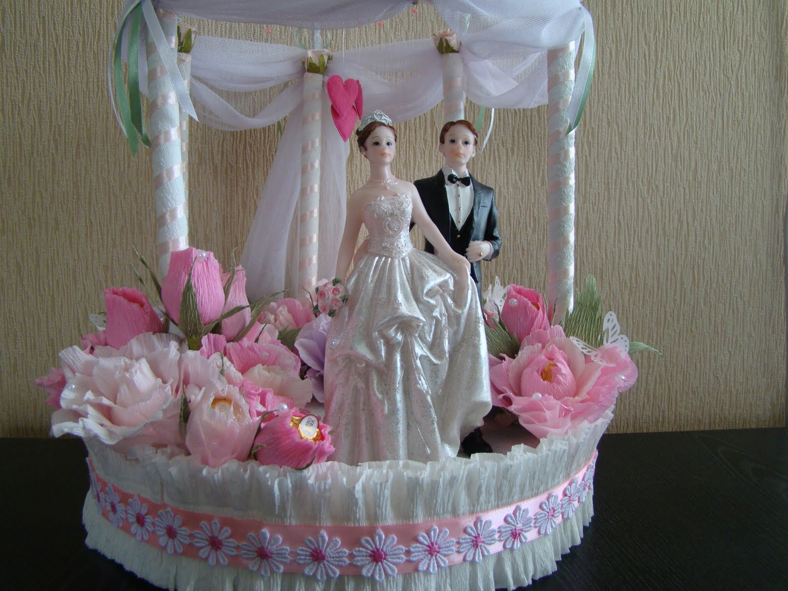 Какой невесте сделать подарок на свадьбу своими руками