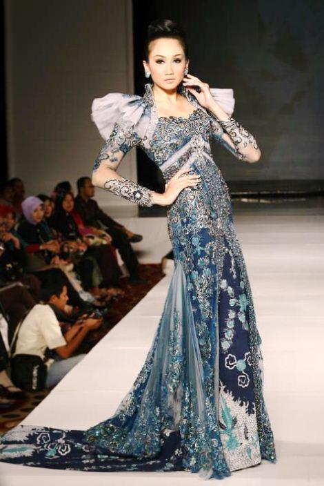 10 Model Batik Kombinasi Brokat Trend 2017 Terbaru  Si Gambar