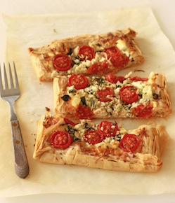 Tomato & Cheese Filo Tart recipe by Season with Spice