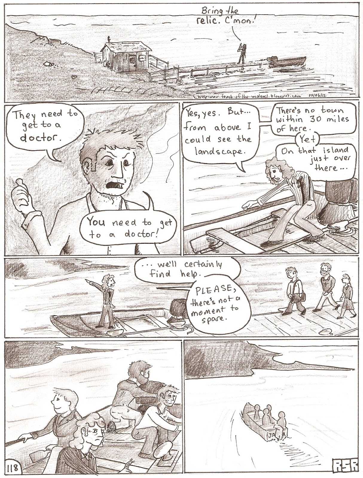 Four if by sea Page 118