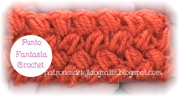 Aprende a tejer el punto fantasía crochet