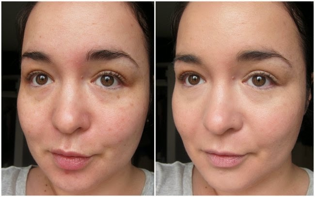 La Roche Posay Rosaliac CC Cream Before and After