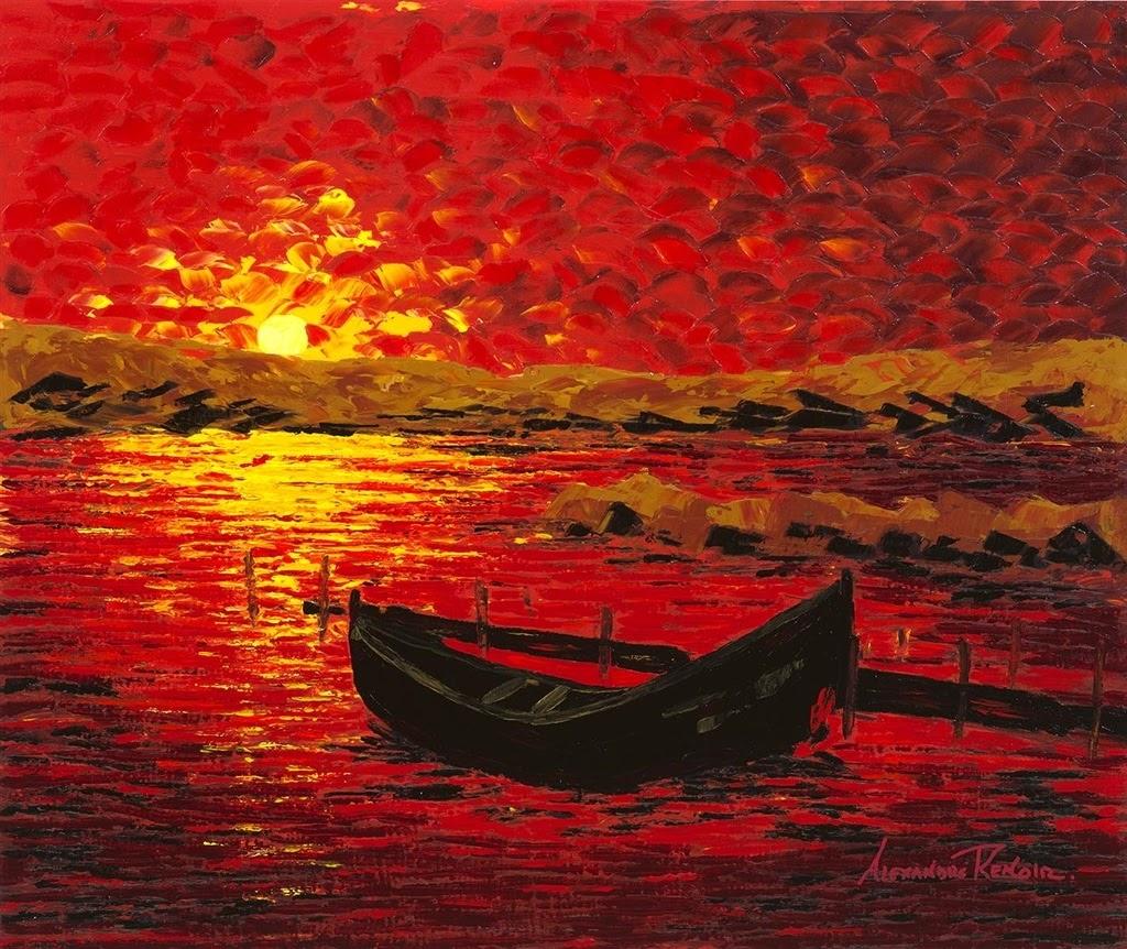 Alexandre Renoir Evening calm