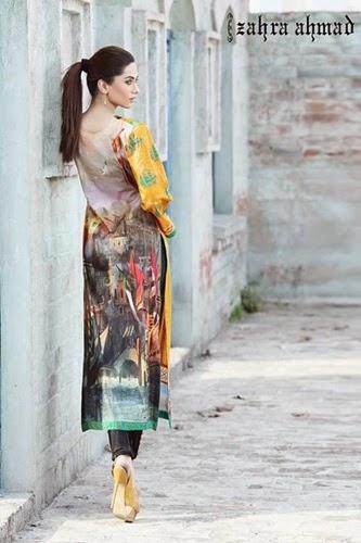 Zahra Ahmad Lawn 2014