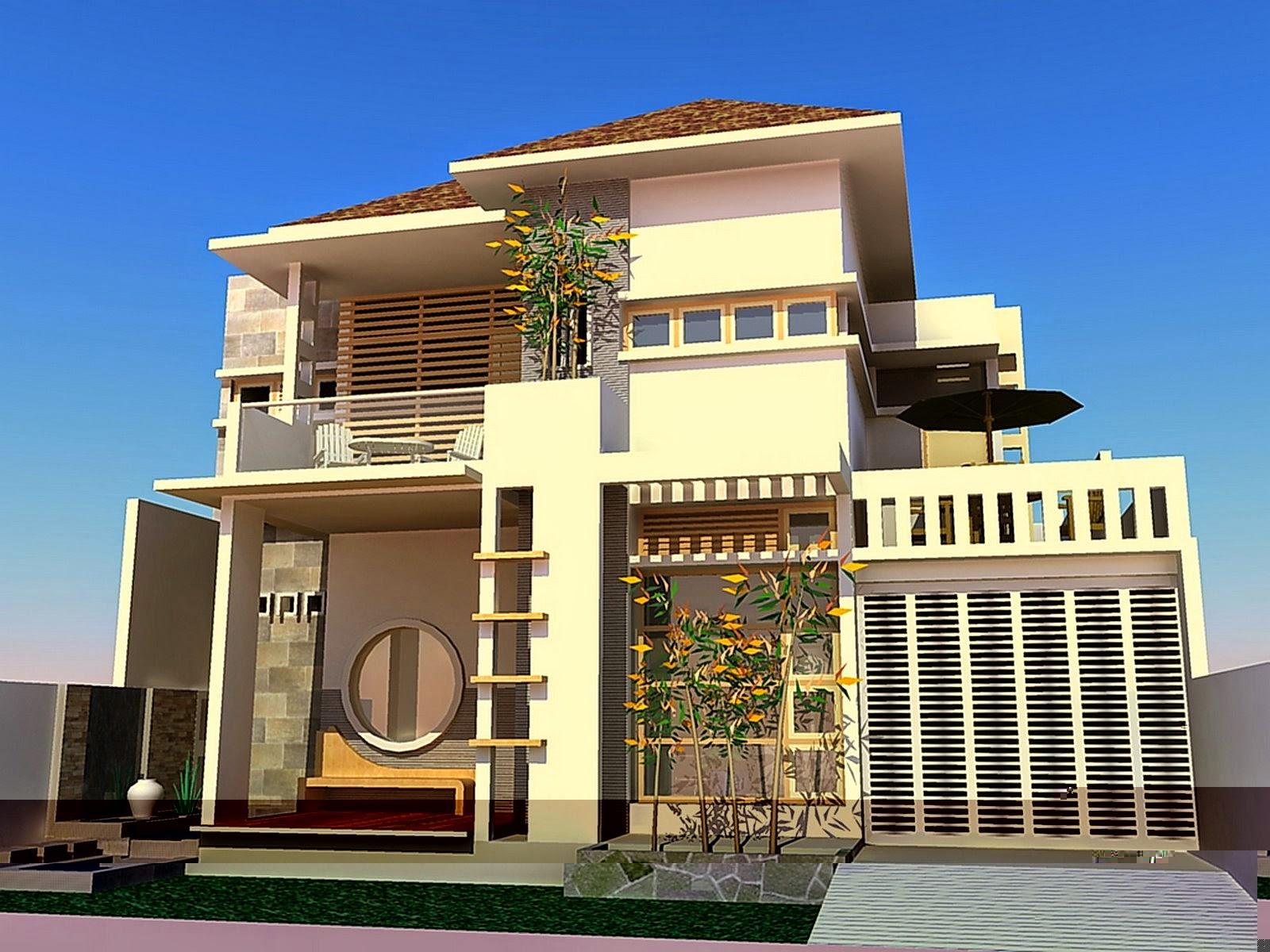 desain rumah type 45 berlantai 2 2014 desain properti