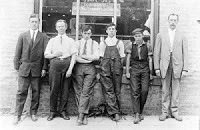 Staff of the Gazette and Chronicle. Source: OurOntario.ca