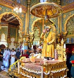 raja Mysore terakhir