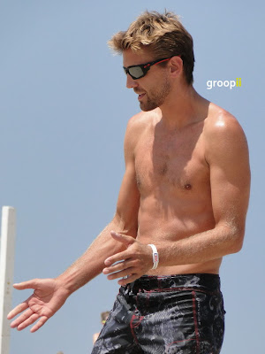Jon Mesko Shirtless at the NVL Malibu 2011