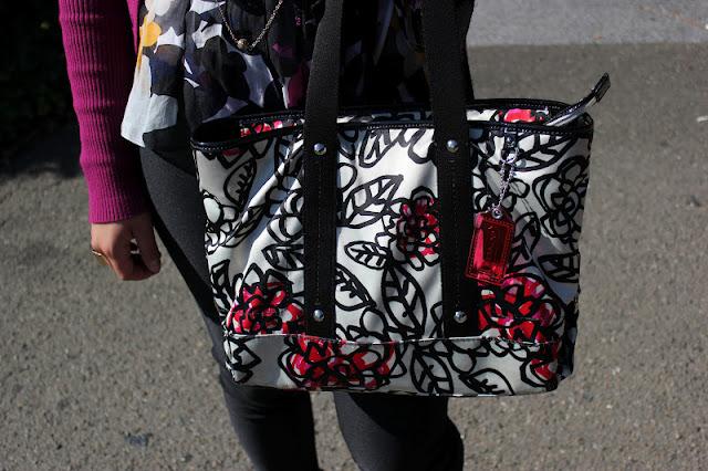 Coach Poppy Graffiti Bag