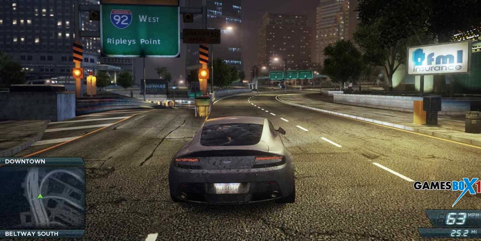 Need for speed most wanted trainer