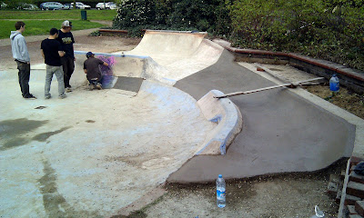 DIY skatespot skatepark london secret spot