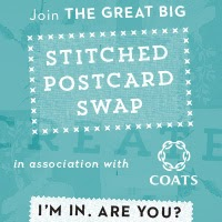 The Great Big Stitched Postcard Swap