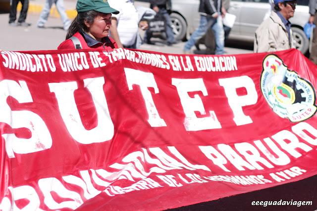 Protestos em Cuzco