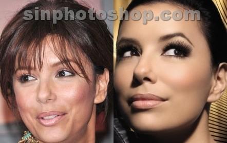 Eva Longoria antes y después