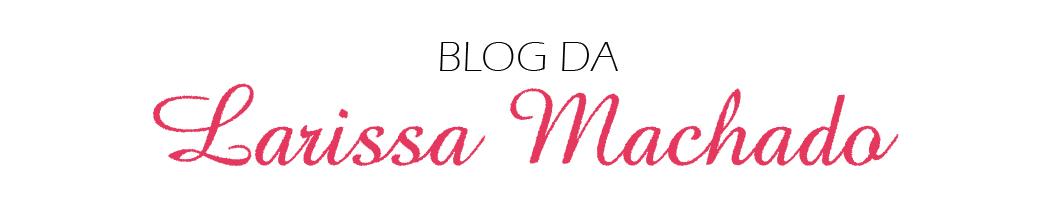 Blog Da Larissa Machado