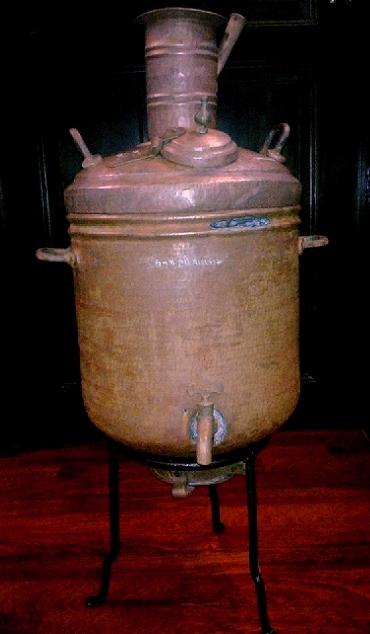 Tamil treasure rare copper water boiler for Copper water boiler