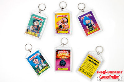 The Hundreds x Garbage Pail Kids Collection Keychains