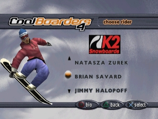 Cool Boarders 4 PS
