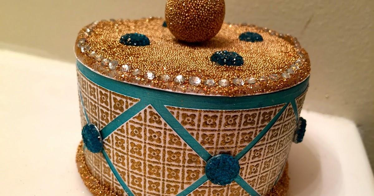 Vishu U0026 39 S Corner  Jewelry Box  Ann Butler Design Blog Hop