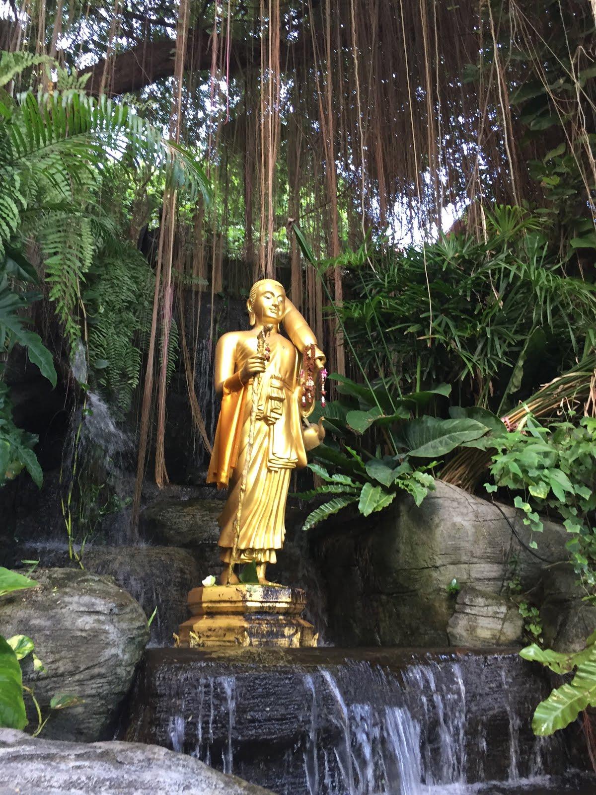 Golden Mountain temple in Bangkok, Thailand