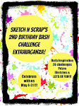 Sketch N Scrap's Birthday Bash