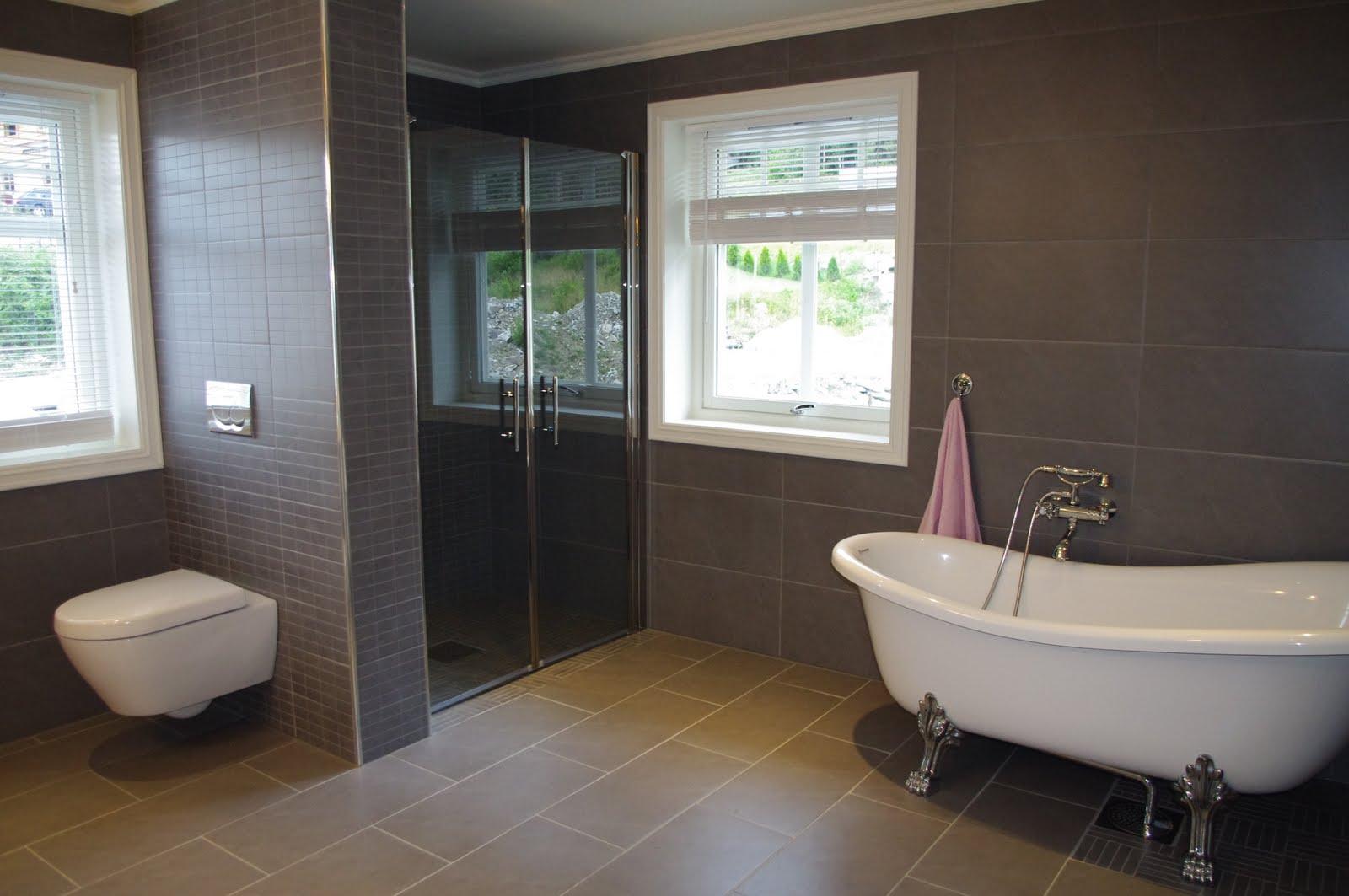 Brune fliser bad – alle typer byggesaker