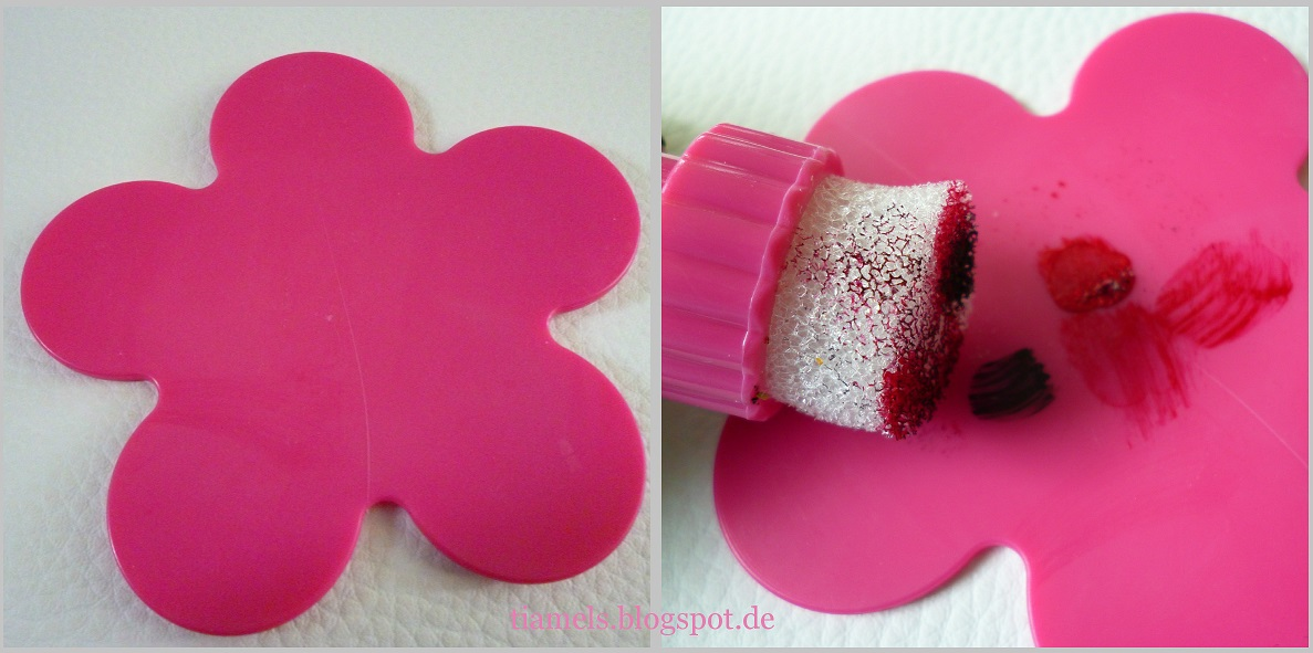 beauty women airbrush stempel und farb palette tiamel. Black Bedroom Furniture Sets. Home Design Ideas