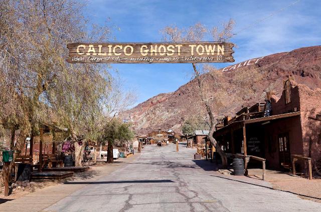 Cidade Fantasma Calico na Califórnia