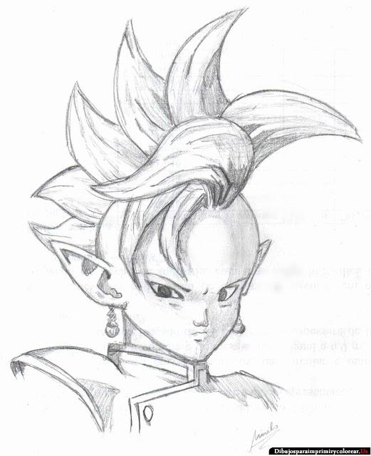 Dragon Ball Z faciles de dibujar - Imagui