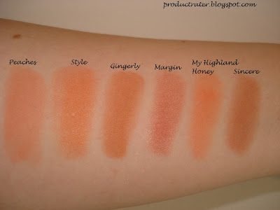 Mac Blush Trace Gold Sunbasque Gingerly Cantaloupe - Home Remedies For ...