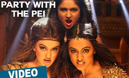 Party With The Pei Song Promo Video | Aranmanai 2 | Siddharth | Trisha | Hansika | Hiphop Tamizha