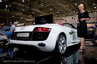 Audi R8 Spyder girl / model