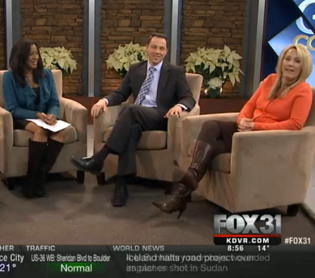 THE APPRECIATION OF BOOTED NEWS WOMEN BLOG : Fox 31 In