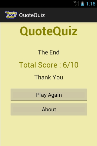 Coding And Error: Android Quiz Game App Source Code