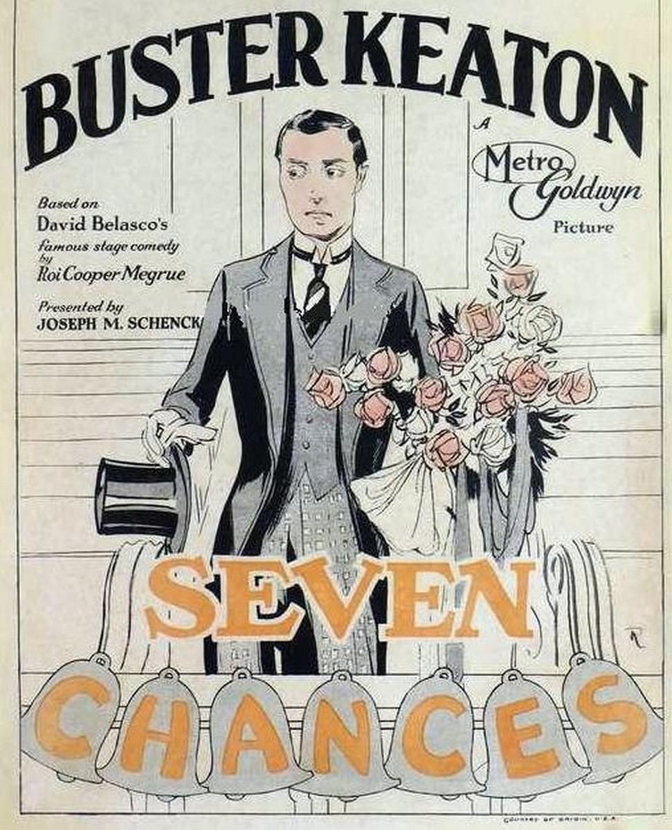 Buster Keaton – Seven Chances (Siete Ocasiones) (1925)