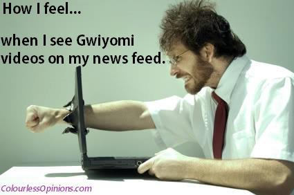 How I feel when I see Gwiyomi meme