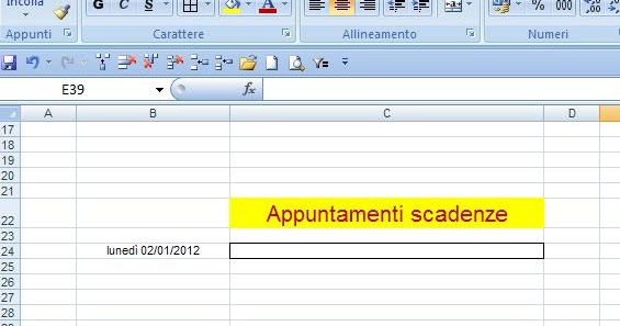 how to make a schedule calendar in excel