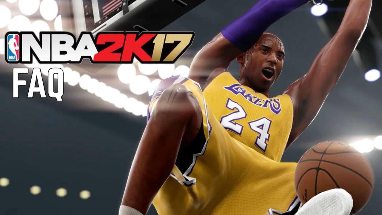 NBA 2k17 FAQ - HoopsVilla