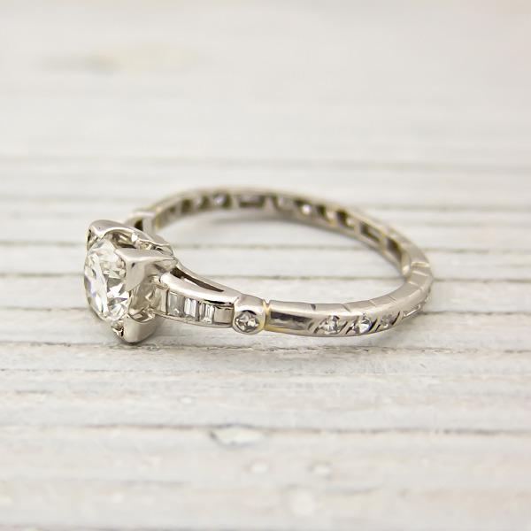 Estremamente Il negozio di anelli fidanzamento vintage a italia ti aspetta con  VX37