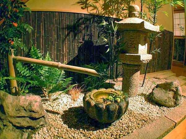 Que tal fazer um Jardim Zen  aquele com inspiração oriental?