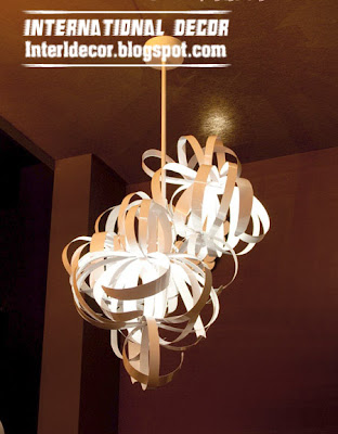 unique modern ceiling lighting lamp and ceiling accessories