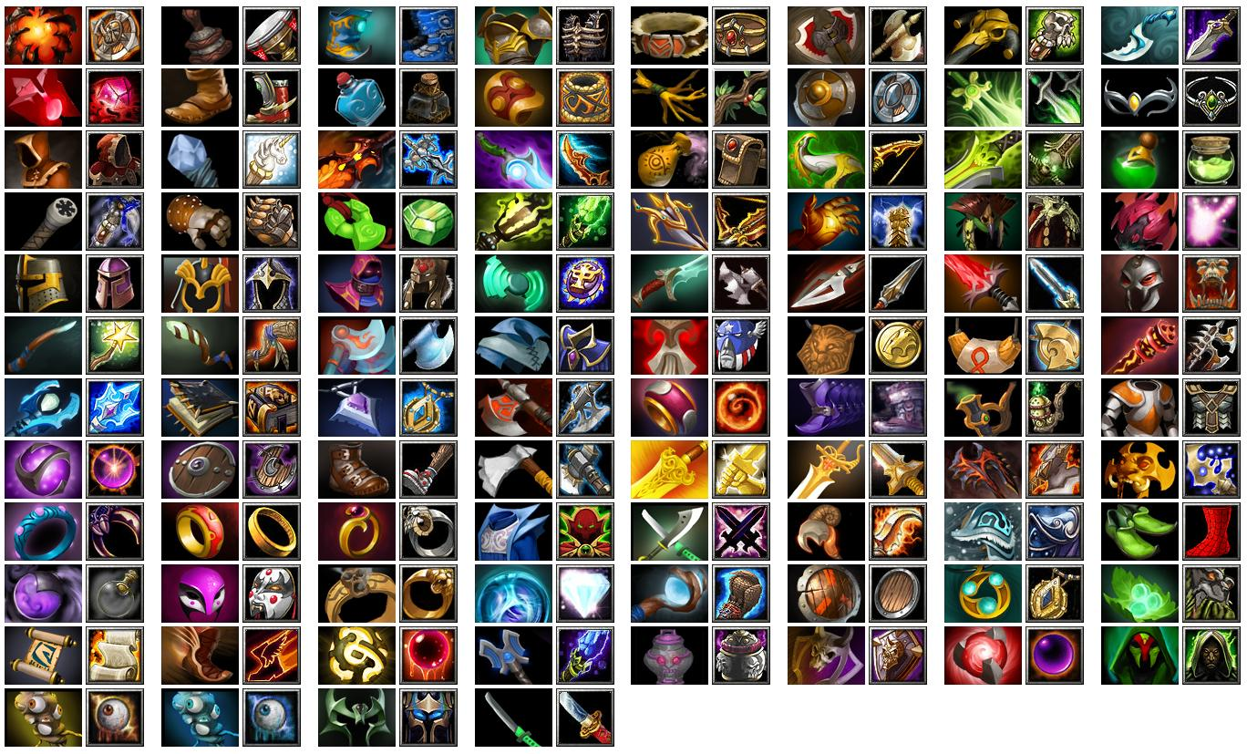 Dota-Throne - Defance Of The Ancients: DotA 2 Items Icon List ...