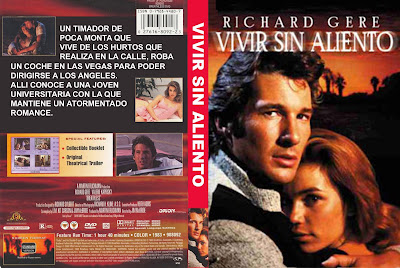 Vivir sin aliento | 1983 | Breathless, cover dvd, caratula